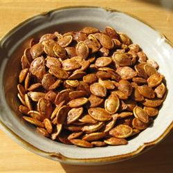 Roasted Pumpkin Seeds (All Recipes)