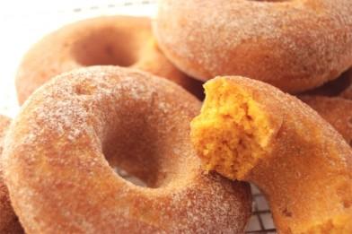 Baked Pumpkin Donuts (Flourish)