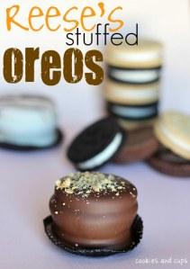 Reese's Stuffed Oreos