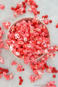 Red Hot Popcorn | 10 Desserts To Make With Your Leftover Halloween Candy