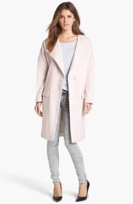 Topshop's oversize snap-button coat, $116