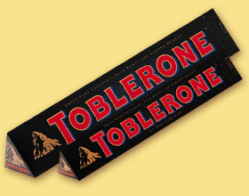 Toblerone Swiss Dark Bittersweet Chocolate