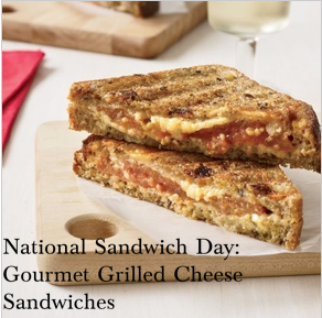 Gourmet Grilled Cheese Sandwiches