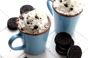 Oreo Hot Chocolate